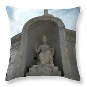 Italian Mausoleum Throw Pillow