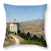 In That Quiet Earth - An Italian Landscape  Throw Pillow