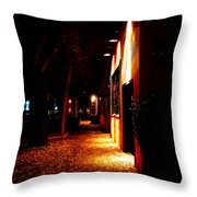 Italian Restaurant Throw Pillow