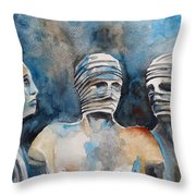 Italian Sculptures 03 Throw Pillow