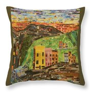 Italian Village Throw Pillow