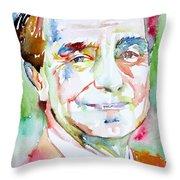 Italo Calvino Throw Pillow