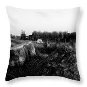 Italy Back In The 60's Throw Pillow