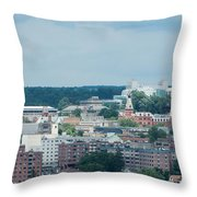 Ithaca New York And Cornell University Throw Pillow