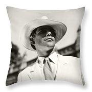 It's A Gentleman Throw Pillow
