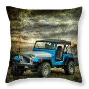 It's A Jeep Thing Throw Pillow