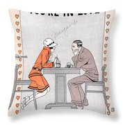 Its A Million To One You're In Love Throw Pillow
