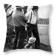 It's A Nice Day For This  Throw Pillow