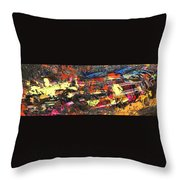 It's A Raceway Kind Of Life Throw Pillow