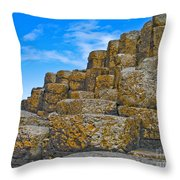 It's A Small Step For Giants Throw Pillow
