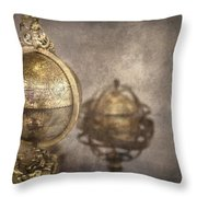 Its A Small World Throw Pillow