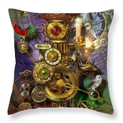 Its About Time Throw Pillow by Ciro Marchetti