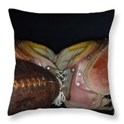 Its All About Football Throw Pillow