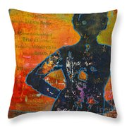 It's All About The Moments Throw Pillow