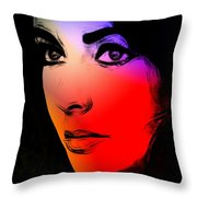 Its All In My Eyes Throw Pillow