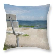 It's All Yours Throw Pillow