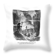 It's An Amazing Coincidence Throw Pillow