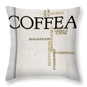 It's Coffee Time Throw Pillow