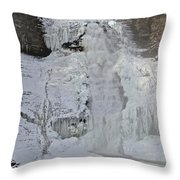 Its Cold Throw Pillow