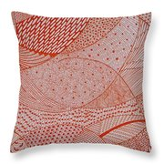 Its Complicated Throw Pillow by Ankeeta Bansal