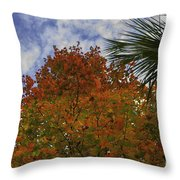 It's Fall Ya'll Throw Pillow
