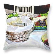 Its Fruit First Throw Pillow