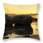 It's Golden Throw Pillow