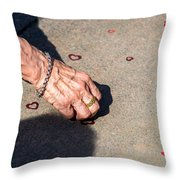 It's Never Late To Love - Featured 3 Throw Pillow