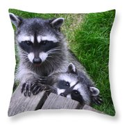 It's Nice To Meet You Throw Pillow
