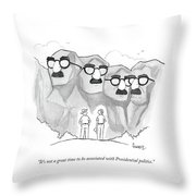 It's Not A Great Time To Be Associated Throw Pillow