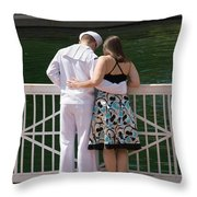 It's Not Goodbye Throw Pillow