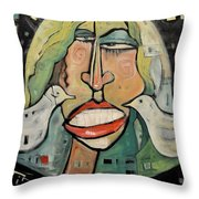 Its Not Nice To Mess With Mother Nature Throw Pillow