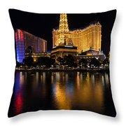 It's Not Paris Throw Pillow