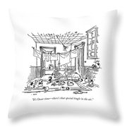 It's Oscar Time - There's That Special Tingle Throw Pillow