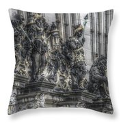 Its Own Little History Throw Pillow