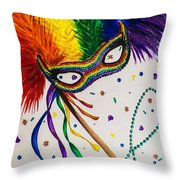 It's Party Time Throw Pillow
