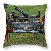 Its Work Is Done Throw Pillow