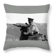 Ivan Dixon Suppose They Gave A War And Nobody Came Golder Dam Tucson Arizona 1969 Throw Pillow