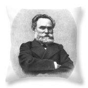 Ivan Pavlov (1849-1936) Throw Pillow