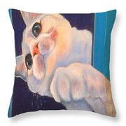 Ive Been Framed Side View Throw Pillow
