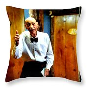 I've Heard About You Throw Pillow