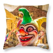 I've Never Liked Clowns Throw Pillow