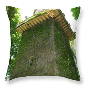 Ivy Along The Watchtower Throw Pillow
