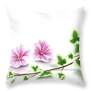 Ivy And Mallow Throw Pillow