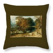 Ivy Bridge Throw Pillow