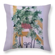 Ivy Throw Pillow by Sherry Harradence
