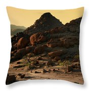 Iwanna Rock Throw Pillow