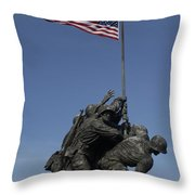 Iwo Throw Pillow