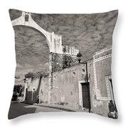 Izamal Arch Throw Pillow