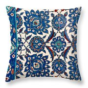 Iznik 12 Throw Pillow